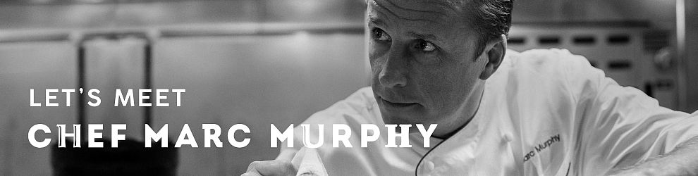 Let's Meet Grisini Foot Hall Chef Marc Murphy